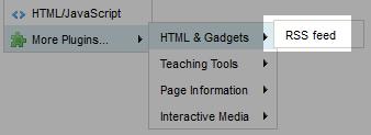docs / RSS Widget